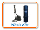 Central vacuum Whole Kits