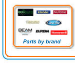 Central Vacuum Parts by Brand