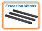 Central Vacuum Extension Wands
