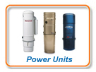 Central vacuum Power Units